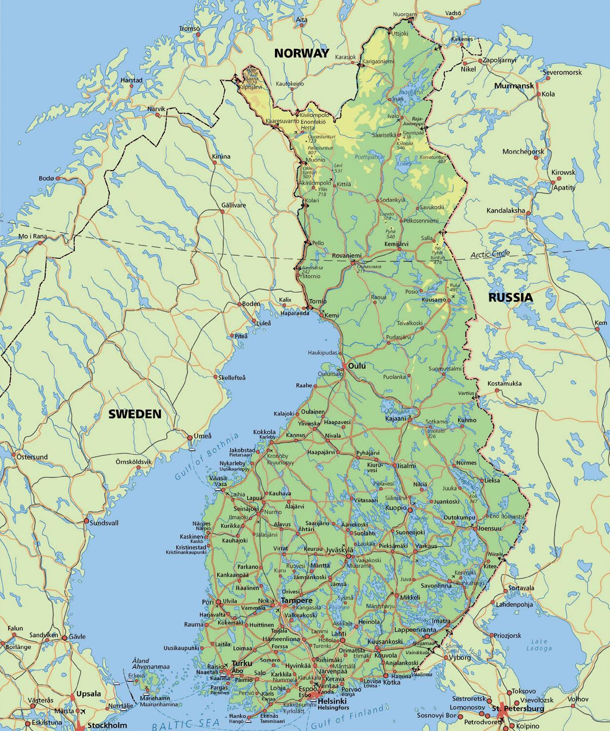 Finland | Scott Brown's Cerebral Caffeine