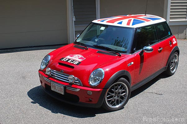 mini cooper scott brown 39 s cerebral caffeine. Black Bedroom Furniture Sets. Home Design Ideas