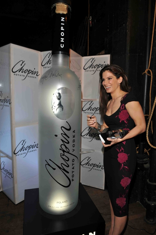Chopin Vodka with Sandra Bullock