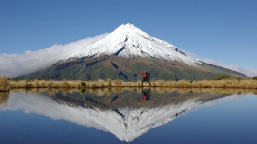 New Zealand Mt Taranki dormant volcano