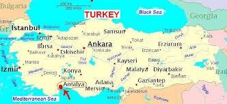 AntalyaTurkeyMap