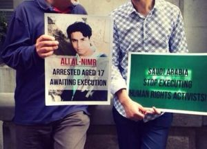 ali-mohammed-al-nimr posters (2) for his release for photo caption